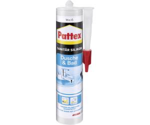 pattex dusche bad sanit r silikon weiss 300ml ab 6 37 preisvergleich bei. Black Bedroom Furniture Sets. Home Design Ideas