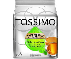 Tassimo Twinings Green Tea & Mint (16 T-Discs)