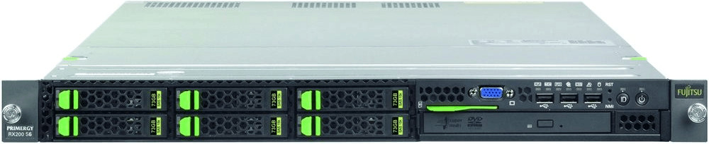 Fujitsu PRIMERGY RX200 S7 E5-2620 (VFY:R2007SC0...