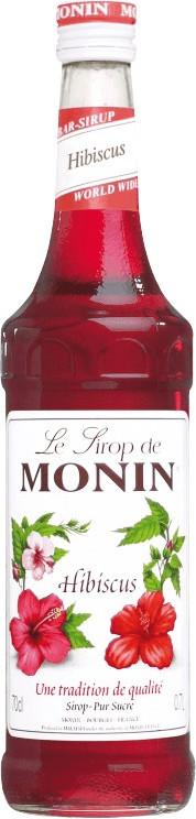 Monin Sirup Hibiscus 0,7l
