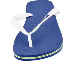 d54d5aa1d7b583 Buy Havaianas Brasil Logo Marine Blue from £10.19 – Best Deals on ...