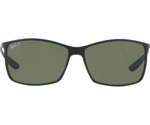 Ray Ban Tech Liteforce Matt Black Polarisierte Sonnenbrille RB4179 601S9A