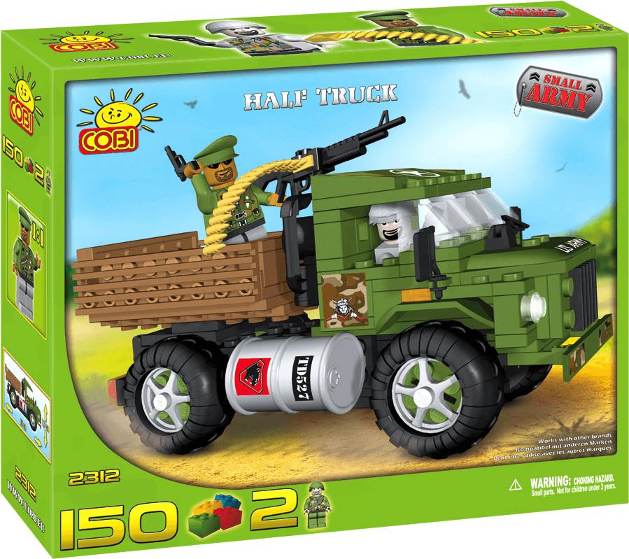Cobi Small Army - Small Truck mit Maschinengewe...