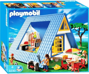 playmobil famille maison de vacances 3230 au meilleur. Black Bedroom Furniture Sets. Home Design Ideas