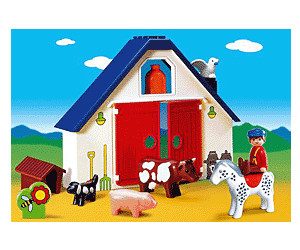 Playmobil 1.2.3 - Animal Farm (6740)