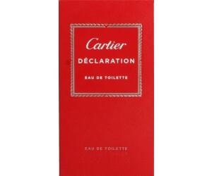 Cartier Déclaration Eau De Toilette Au Meilleur Prix Sur Idealofr