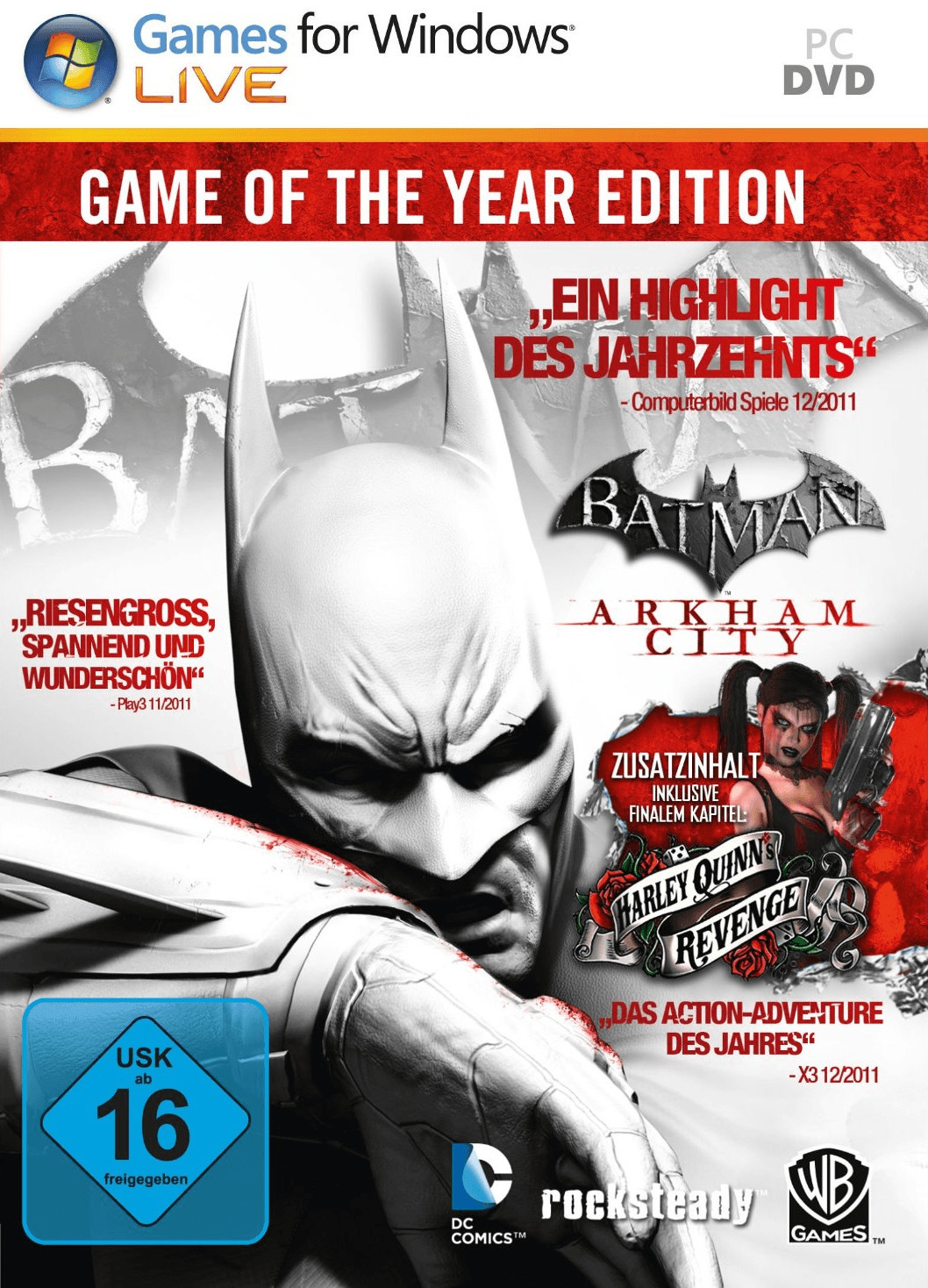 Batman: Arkham City - Game of the Year Edition ...