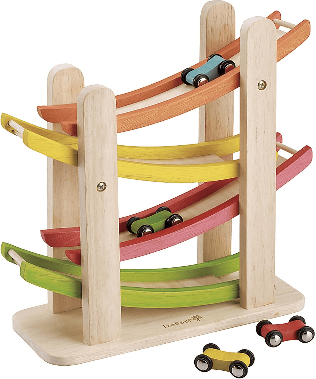 EverEarth Auto-Rennbahn aus Holz