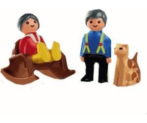 Playmobil 1.2.3 Grandma and Grandpa (6722)