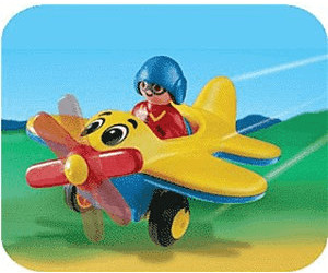 Playmobil 1.2.3 Propeller Plane (6717)