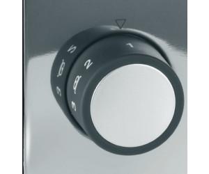 Auftau- und aus Edelstahl und Aluminium Stopp- Graef 2-Scheiben-Toaster TO92