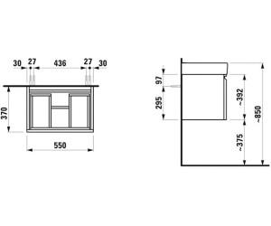laufen pro waschtisch unterbau b 57 h 39 t 37 cm ab 264 23 preisvergleich bei. Black Bedroom Furniture Sets. Home Design Ideas