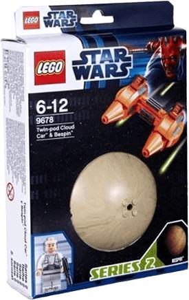LEGO Star Wars Twin-pod Cloud Car & Bespin (9678)