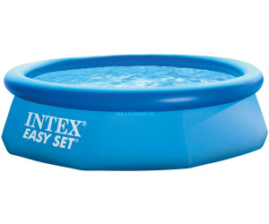 intex easy set quick up pool 244 x 76 cm ab 26 69 preisvergleich bei. Black Bedroom Furniture Sets. Home Design Ideas