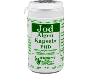 pharmadrog jod algen kapseln 60 stk ab 4 86. Black Bedroom Furniture Sets. Home Design Ideas