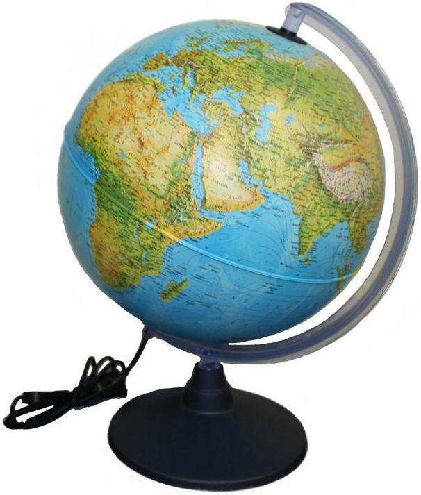Idena Globus mit zwei Kartenbildern (569902)
