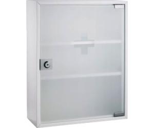 Alco Erste Hilfe Verbandsschrank Mit Glastur Satiniert 863 Ab 47 62