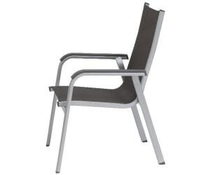 kettler basic plus stapelsessel silber anthrazit 0301202 0000 ab 89 00 preisvergleich bei. Black Bedroom Furniture Sets. Home Design Ideas