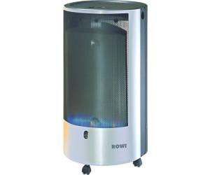 rowi hgo blue flame 4200 w pure inox mit thermostat ab 177 19 preisvergleich bei. Black Bedroom Furniture Sets. Home Design Ideas