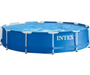 Intex metal frame pool 305 x 76 cm ab 67 41 for Intex pool 150 cm tief
