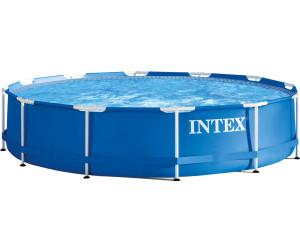 intex metal frame pool 305 x 76 cm ab 69 95 preisvergleich bei. Black Bedroom Furniture Sets. Home Design Ideas