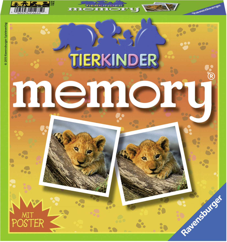 Ravensburger Tierkinder Memory (21275)