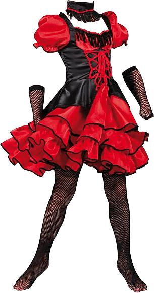 Funny Fashion Kostüm Wilder Western Lady