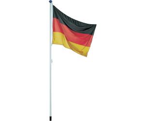 normani Aluminium Fahnenmast 6,20 Meter inkl Deutschland-Flagge