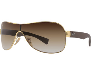 33c13dc8ce Buy Ray-Ban RB3471 001 13 (shiny gold brown) from £89.95 – Compare ...