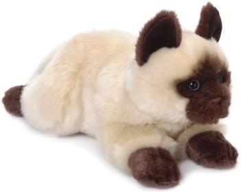 Mimex Lifelike - Siamkatze liegend 28 cm