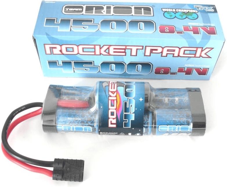 Team Orion Rocket Pack Stick Hump NiMH 8.4V TRX 4500mAh (ORI10341)