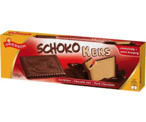 Griesson Schoko Keks Zartbitter (125 g)