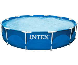 Intex metal frame 366 x 76 cm a 74 00 miglior prezzo - Piscine intex 12 x 30 ...
