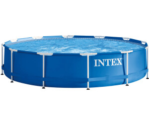 intex frame pool 366 x 76 cm ohne zubeh r 28210 ab 59 90 preisvergleich bei. Black Bedroom Furniture Sets. Home Design Ideas