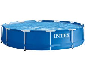 intex frame pool 366 x 76 cm ohne zubeh r 28210 ab 71 90 preisvergleich bei. Black Bedroom Furniture Sets. Home Design Ideas