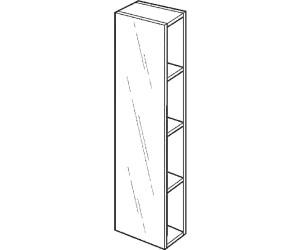 keramag icon xs regal mit spiegel ab 211 96. Black Bedroom Furniture Sets. Home Design Ideas