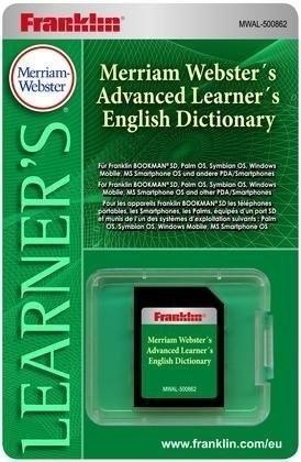 Franklin Merriam-Webster´s Advanced Learner´s D...
