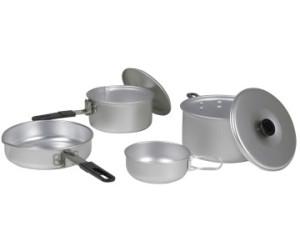10T HUNTER Aluminium Camping Pot and Pan Set