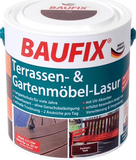 BAUFIX Terrassen- & Gartenmöbel-Lasur