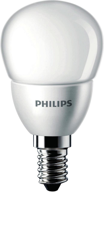 Philips LED Tropfenform 4 W (25 W), E14-Sockel,...