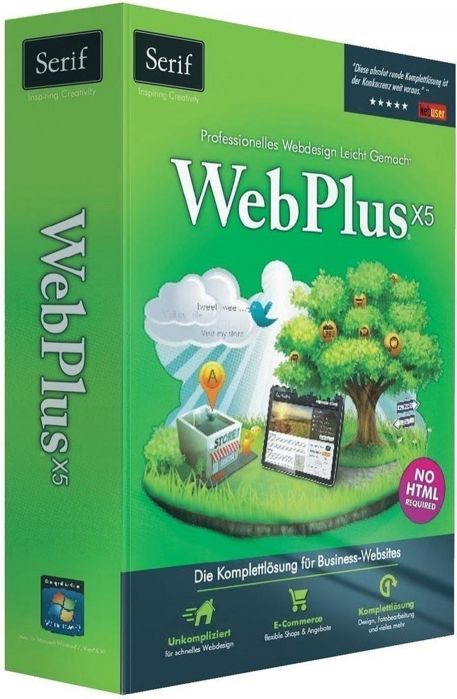 Avanquest Serif WebPlus X5 (DE) (Win)