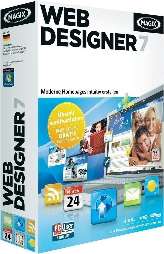 Magix Xtreme Web Designer 7 (DE) (Win) (Box)