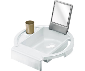 Rotho Kiddy Wash Kinder Waschbecken weiß silber grau NEU