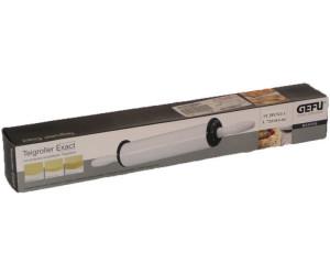 GEFU Teigroller EXACT Nudelholz verstellbar antihaft