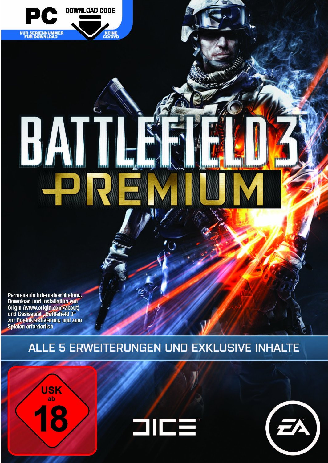 Battlefield 3: Premium (Add-On) (PC)