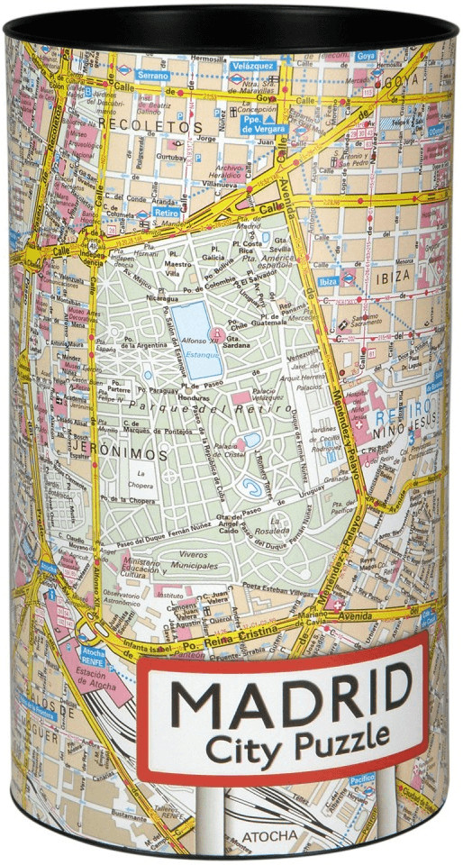 Extragoods City Puzzle - Madrid (500 Teile)