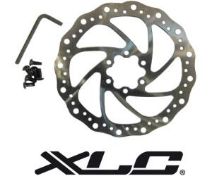 XLC Bremsscheibe BR-X02 Ø180mm silber rot