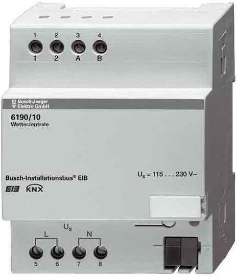 Busch-Jaeger Wetterzentrale 1-fach (6190/10)