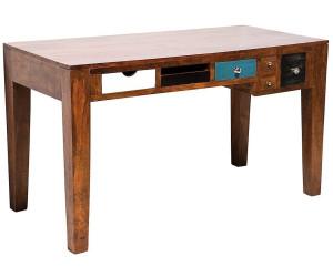 Kare malibu massivholz schreibtisch mangoholz ab 649 00 for Schreibtisch naturholz