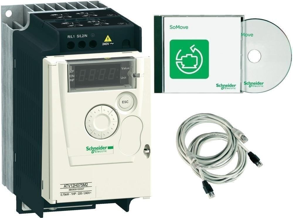 Pelco Frequenzumrichter Atv12 0,75KW 230V